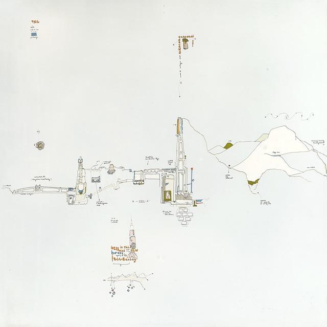 Gianfranco Baruchello, 'Sostenere l'acrocoro: un hobby relativamente recente', 1971, Il Ponte