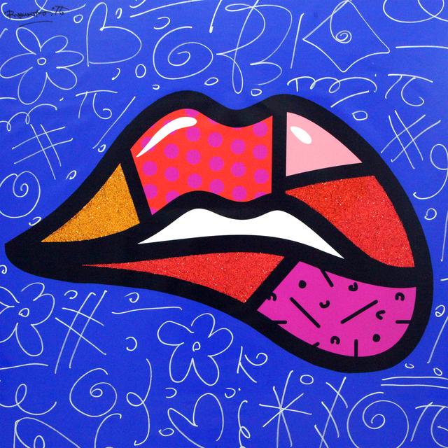 Romero Britto, 'Lipstick', 2018, Castle Fine Art