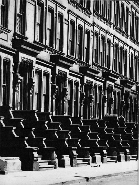 Evelyn Hofer, 'Brownstones', ROSEGALLERY