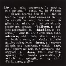 , 'Air,' 1967, Erica Ravenna Fiorentini Arte Contemporanea