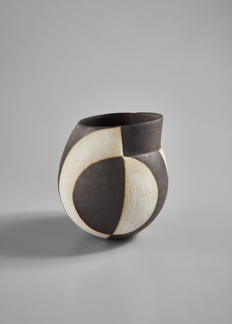 "John Ward, '""Black and White Vessel""', circa 1991, Phillips"