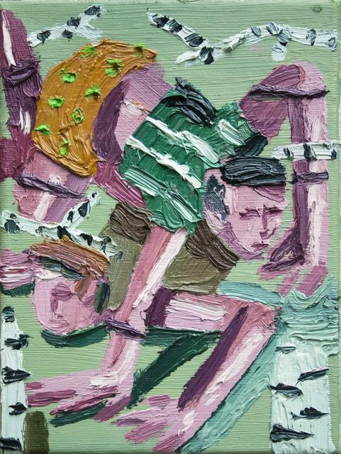 , 'Hurry II,' 2018, Art+Text Budapest