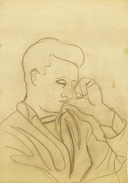 Marie Vorobieff Marevna, 'Portrait of a man', Roseberys
