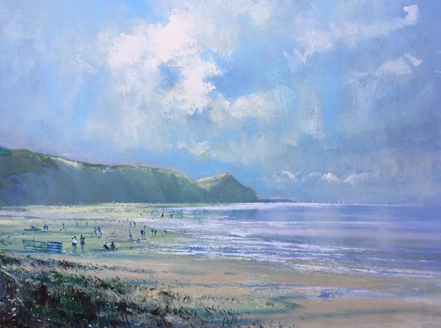 , 'High Summer Charnmouth,' 2017, Wychwood Art