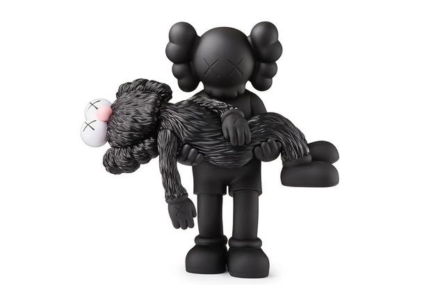 "KAWS, 'Gone ""Black Edition""', 2019, Sculpture, Vinyl, New Union Gallery"