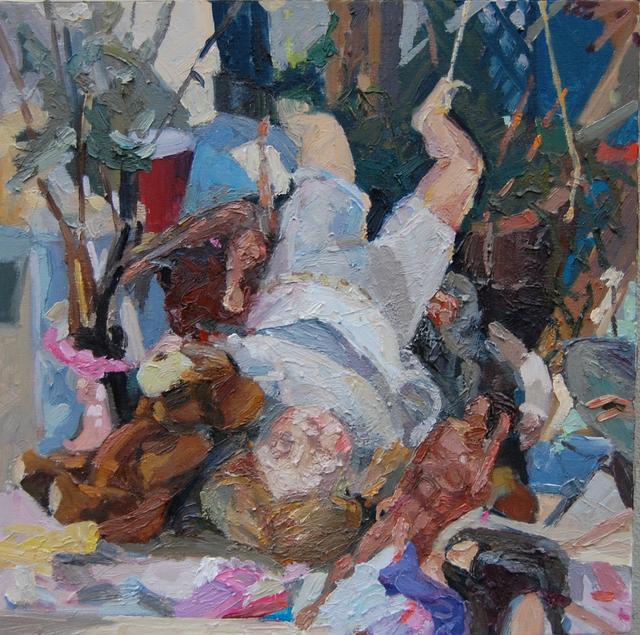 Gulgun Aliriza, 'Teddy', 2010, Painting, Oil on canvas, Blue Mountain Gallery