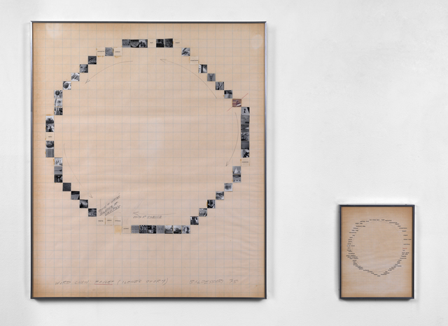 , 'Word Chain: Faucet (Ilene's Story),' 1975, Simon Lee Gallery