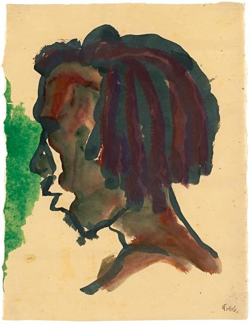 , 'Kopf eines Südsee-insulaners ,' 1913, Galerie Herold