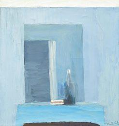 Interieur bleu