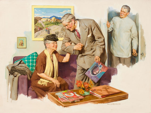 Harold Anderson, 'At the Doctor's Office', The Illustrated Gallery