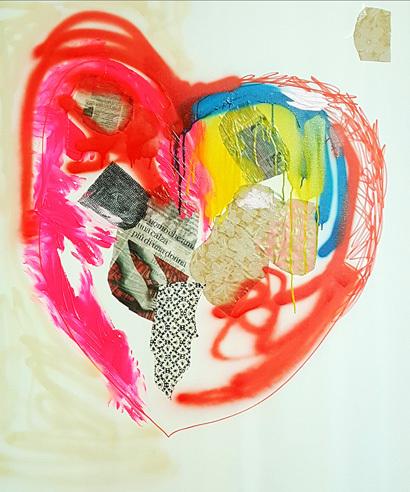 Serena Rossi, 'Ci vuole cuore', 2018, Magreen Gallery