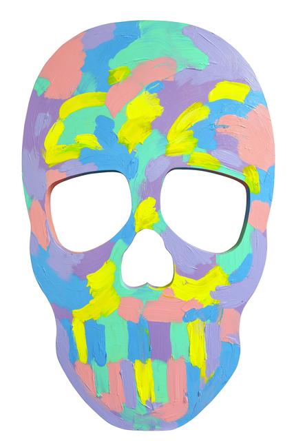 , 'Skull Face IV,' 2017, Maddox Gallery