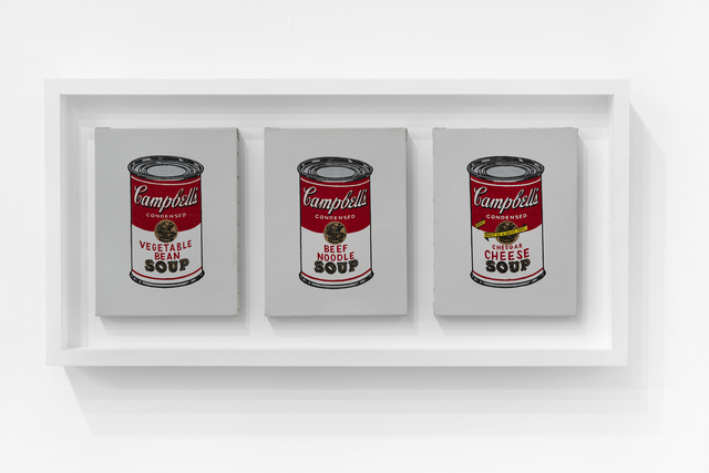 , 'Campbell's Soup Cans,' 1987, The Bonnier Gallery