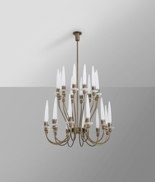A '12423' chandelier