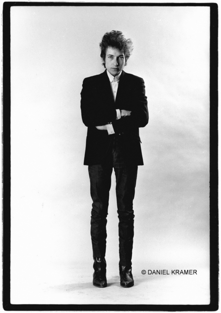 , 'Bob Dylan, Standing in Studio, New York,' 1965, Staley-Wise Gallery