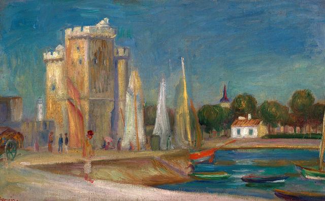 , 'Port de La Rochelle,' 1896, Trinity House Paintings