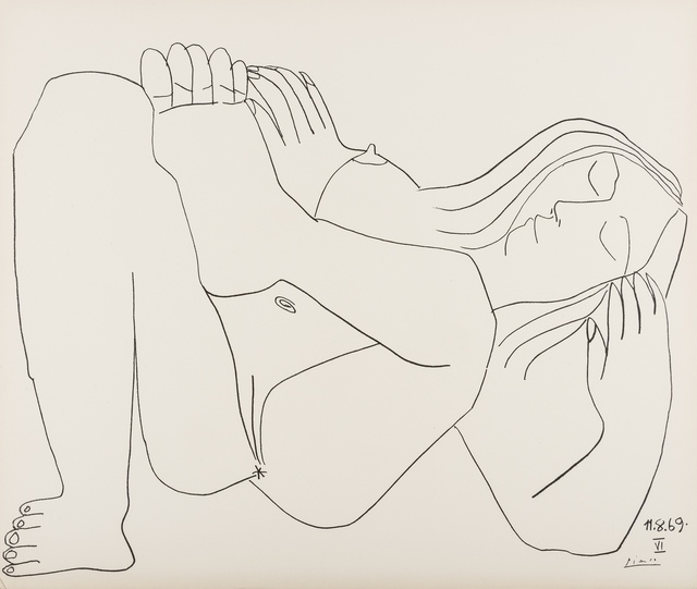 After Pablo Picasso, 'Femme Nue, 11.8.69, no. VI', 1969, Forum Auctions