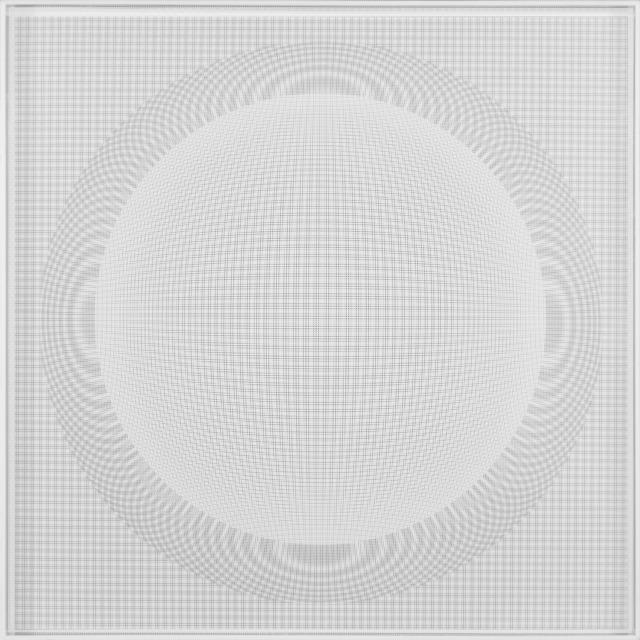 , 'Esfera de Nucleo Espacial Blanca,' 2014, Galería RGR