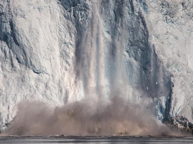 , 'Eqi Glacier, De Quervain Havn, Greenland,' 2016, Marlborough Gallery