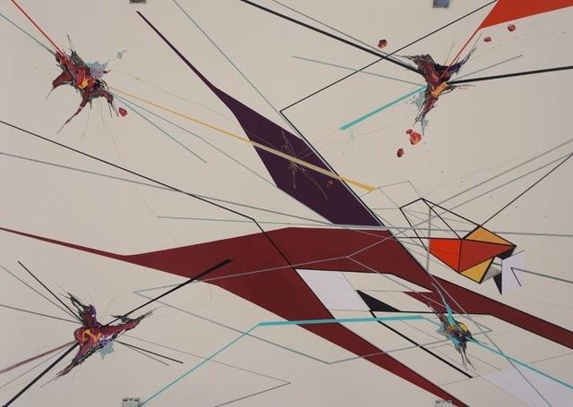 , 'MORPHO & DEBRIS, DRAWING VI,' 2013, saltfineart