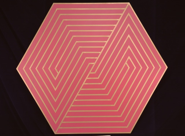 , 'Untitled (Octagonal - Red/Gold),' ca. 1970s, Singapore Art Museum (SAM)