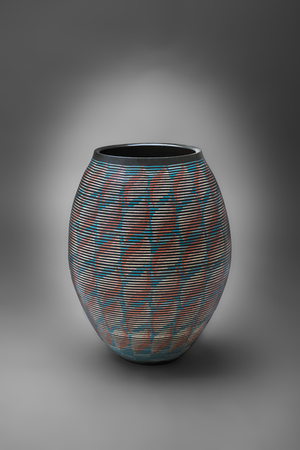 , 'Flower Vessel with Geometric Patterns 11,' 2015, Onishi Gallery