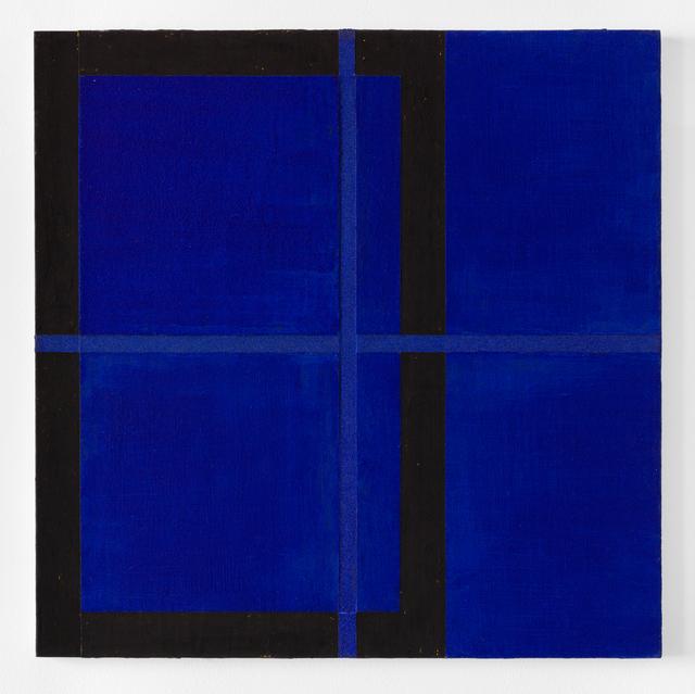 Harvey Quaytman, ' Azurite', 1990, Galerie Nordenhake