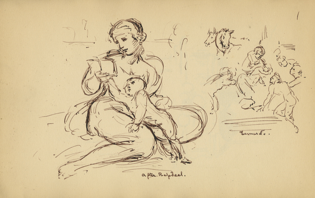 , 'After Raphael and Leonardo,' 1929, Anthony's Fine Art