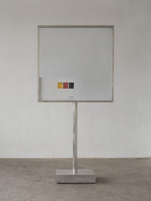 , 'Hipsometria Rodchenko,' 1995, Galería Joan Prats