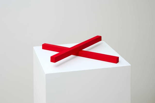 Mózes Márton Murányi, 'Red Cross', 2018, Sculpture, TRAPÉZ