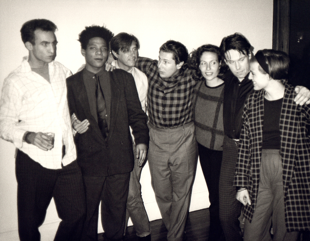 Andy Warhol, 'Andy Warhol, Photograph of Jean-Michel Basquiat, Bryan Ferry, Julian Schnabel, Jacqueline Beaurang, Paige Powell, and Others at a Party at Julian Schnabel's Apartment, 1985', 1985, Hedges Projects