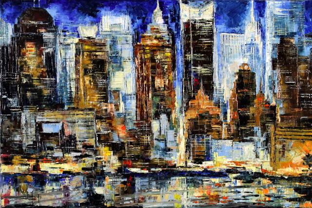 , 'New York II,' 2014, Bitfactory Gallery