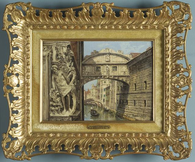 , 'The Bridge of Sighs, Venice ,' 1870-1900, Museo Soumaya