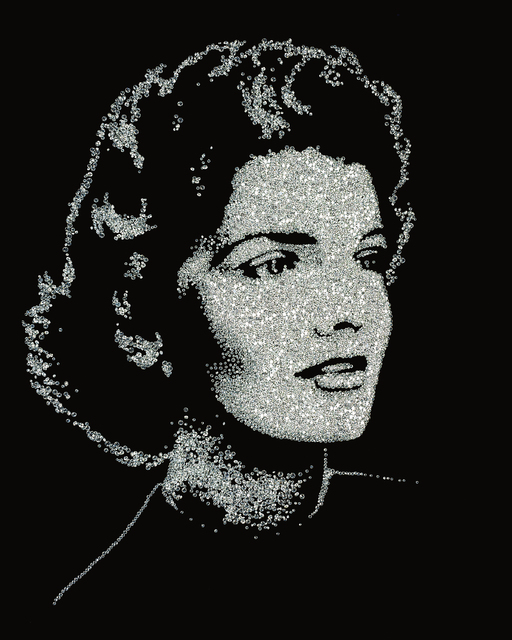 Vik Muniz, 'Jackie (from the series Pictures of Diamonds)', 2005, Phillips