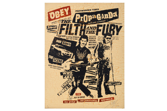 Shepard Fairey, 'The Filth and the Fury', 2006, Chiswick Auctions