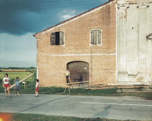 , 'Piazzola sul Brenta, frazione di Presina, via Santa Colomba, Chiesa di Santa Colomba, 1985,' 1985, Large Glass