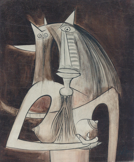 Wifredo Lam, 'Femme', 1944, Pan American Art Projects