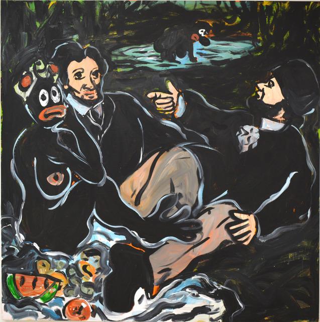 , 'Fish Fry on da` Grass ,' 2016, Ethan Cohen New York
