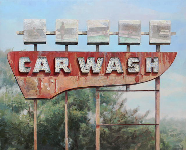 , 'Roadside Wash,' 2017, Sue Greenwood Fine Art