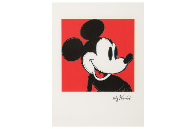 Andy Warhol, 'Mickey Mouse', 1980s, Chiswick Auctions