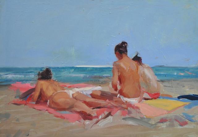 , 'The Beach,' 2015, Q0DE