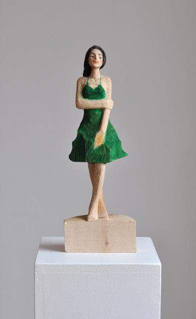, 'Green Dress,' 2018, Alan Kluckow Fine Art
