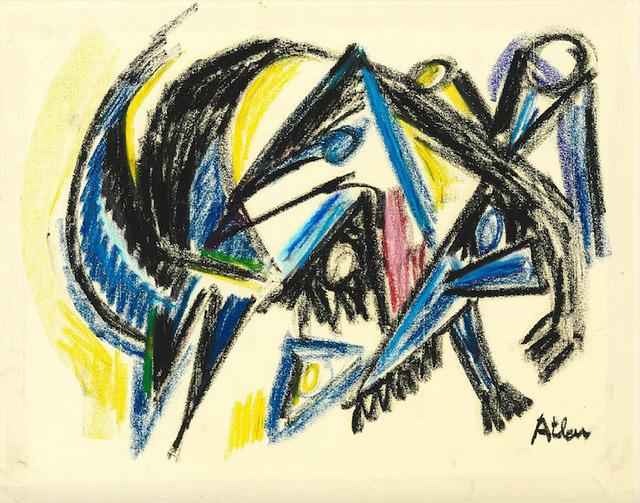 , 'Composition with saws,' , HUNDERTMARKartFAIR
