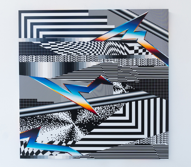 , 'Optichromie 104,' 2018, Joshua Liner Gallery