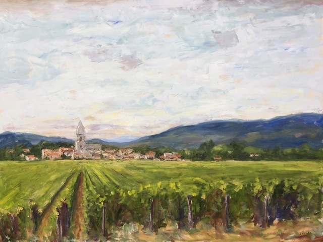 , 'Grapes of Burgandy,' , Beverly McNeil Gallery