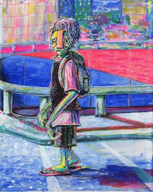 TJ Griffin, 'Man on the corner', 2017, Ro2 Art