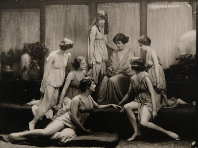, 'Isadora Duncan and the Isadorables,' 1929, The Halsted Gallery