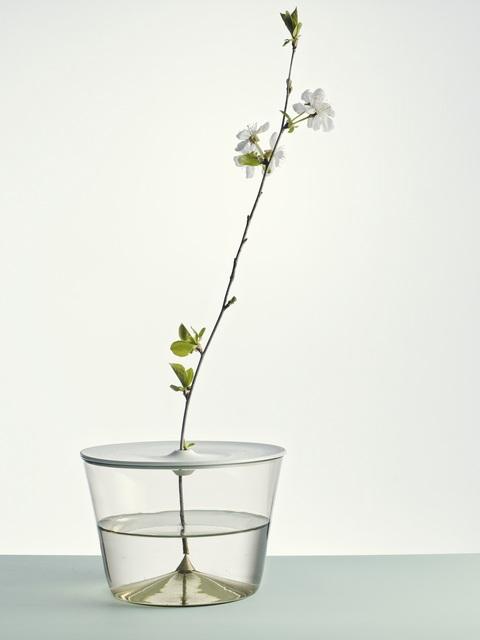 Lada Semecká, 'Vase I', 2020, Design/Decorative Art, Engraved blown glass, unglazed porcelain, Galerie Kuzebauch