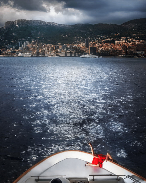 David Drebin, 'Falling for Monte Carlo ', 2019, Photography, Digital C Print, Contessa Gallery