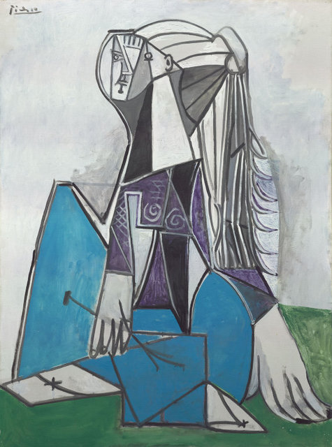 Pablo Picasso, 'Portrait of Sylvette David', 1954, Painting, Oil on canvas, Art Institute of Chicago
